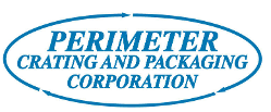 Logo, Perimeter Crating & Packaging Corporation